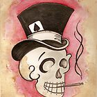 Tophat Skullie by TiaVamp