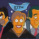 Good News Week ABC (After M. Groening)(Sold) by Donnahuntriss
