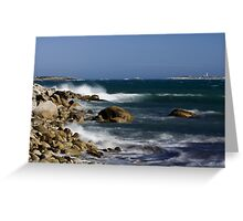 Power Of The Ocean Greeting Card