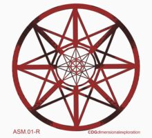 Lucas Darklord - Asmoir Probe Logo - Red by Crypt Designers Guild