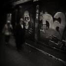 Melbourne's Laneways & Alleys 12 by Trish Woodford