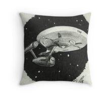 Enterprise 2 Throw Pillow