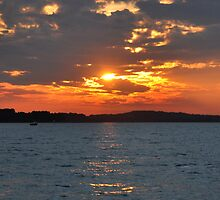 Sandbanks sunset by Rob Hawkins
