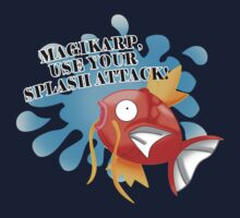 Magikarp - Splash attack! by scarlet-neko