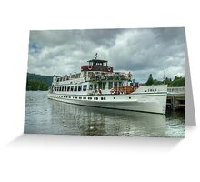 The Swan, Bowness-On-Windermere Greeting Card