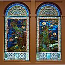 Stained glass windows, American Art Museum by TonyCrehan