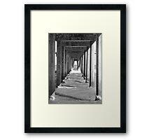 Jetty Bar Framed Print
