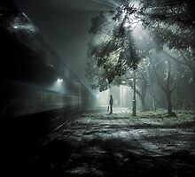 Waiting for train spectrum by Alshain