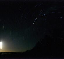 Star Trails - Rarotonga by darylbowen