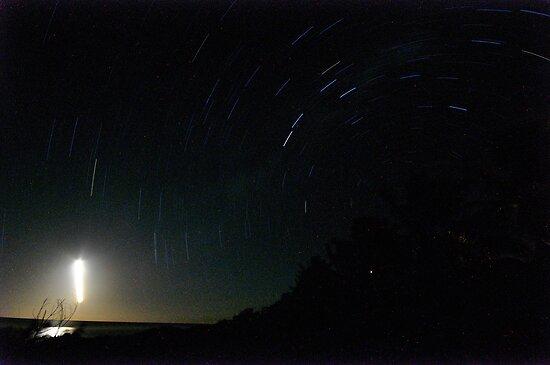 Star Trails - Rarotonga by darylbowen