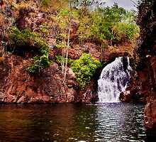 Litchfield National Park - At the base of Florence Falls by Jaxybelle