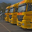 The paddock british superbike pirelli support trucks by markbailey74