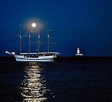 Moon rise by jnhPhoto
