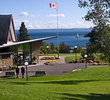 Alexander Graham Bell Museum - Cape Breton, NS by Harv Churchill
