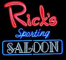 NightLife : Rick's Sporting Saloon by artisandelimage