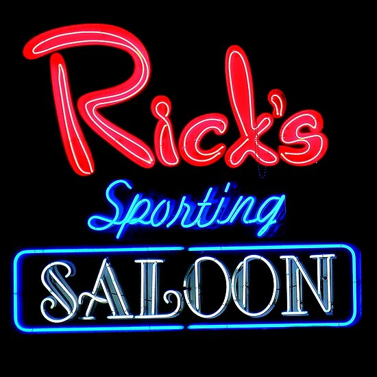 NightLife : Rick's Sporting Saloon by artisandelimage