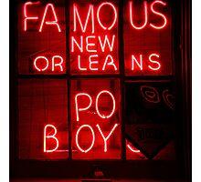 NightLife : Po' Boys Photographic Print