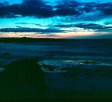 Beach at Lockeport - Nova Scotia by Harv Churchill