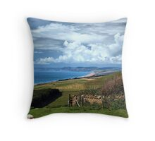 Jurassic Coastline-Dorset Throw Pillow