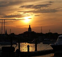 Annapolis at Sunset by swagnerphoto