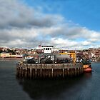 Panorama of Scarborough Harbour by Rob Hawkins