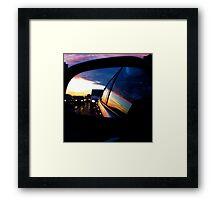 Looking Back... Framed Print