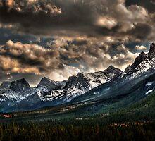 Alberta Rockies by JasonWilliams