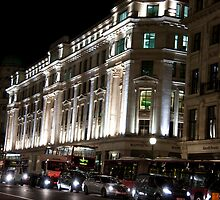 Oxford Street By Night by phil decocco