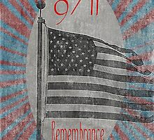 9/11 Remembrance by Jonice