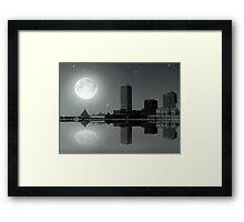 Downtown Milwaukee...Lake View ©  Framed Print