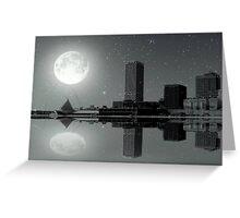 Downtown Milwaukee...Lake View ©  Greeting Card
