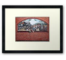 A Step Back in Time ... Framed Print