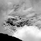 The Mont Blanc from Saint Gervais by Rmi Bridot