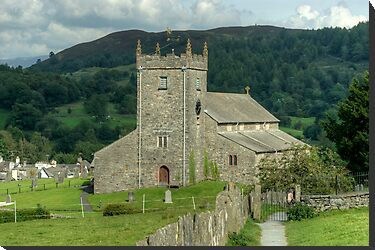 Hawkshead Church by VoluntaryRanger