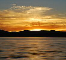 Warners Bay Sunset  by Bev Woodman