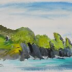 Cadgwith Sketch by Linda Ridpath