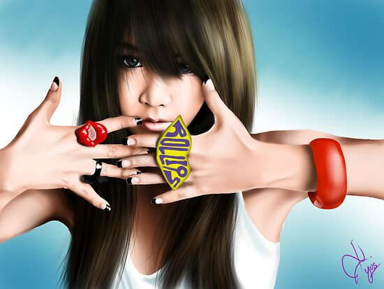 T-ara soyeon by blastfaizu2