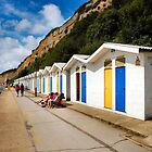BEACH HUTS 4 by ronsaunders47