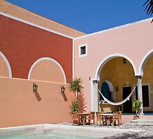 Hotel at Playa del Carmen. Mexico. by vadim19