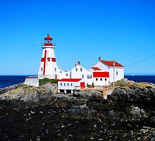 """"""" oldest lighthouse in Canada """" by Gerry Myers"""