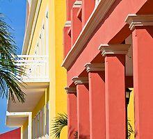 Plaza del Sol. Town of San Miguel. Isla Cozumel. by vadim19