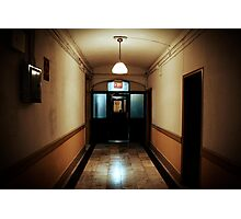 Inside the Chelsea Hotel, Manhattan Photographic Print