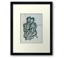 Entwined Lovers Framed Print