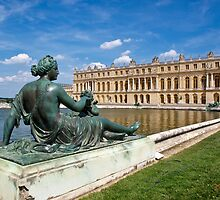 Lying in front of Chateau de Versailles by Fabio Procaccini