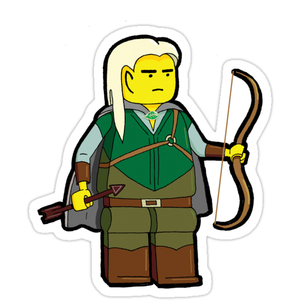 LEGOlas - Little, Yellow, Elvish by murrayjodie