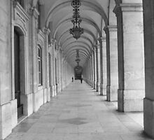 Arches - Lisbon by Dimbledar