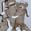 Sock Monkey Love by Donna Glaser/Hanna