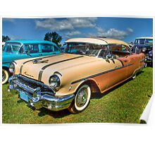 Two-Toned Pontiac Poster