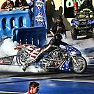 STARS , STRIPES AND SMOKE  by MIGHTY TEMPLE IMAGES