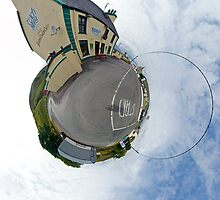 Biddy's House - the Crossroads Pub, Glencolmcille(Sky Out) by George Row